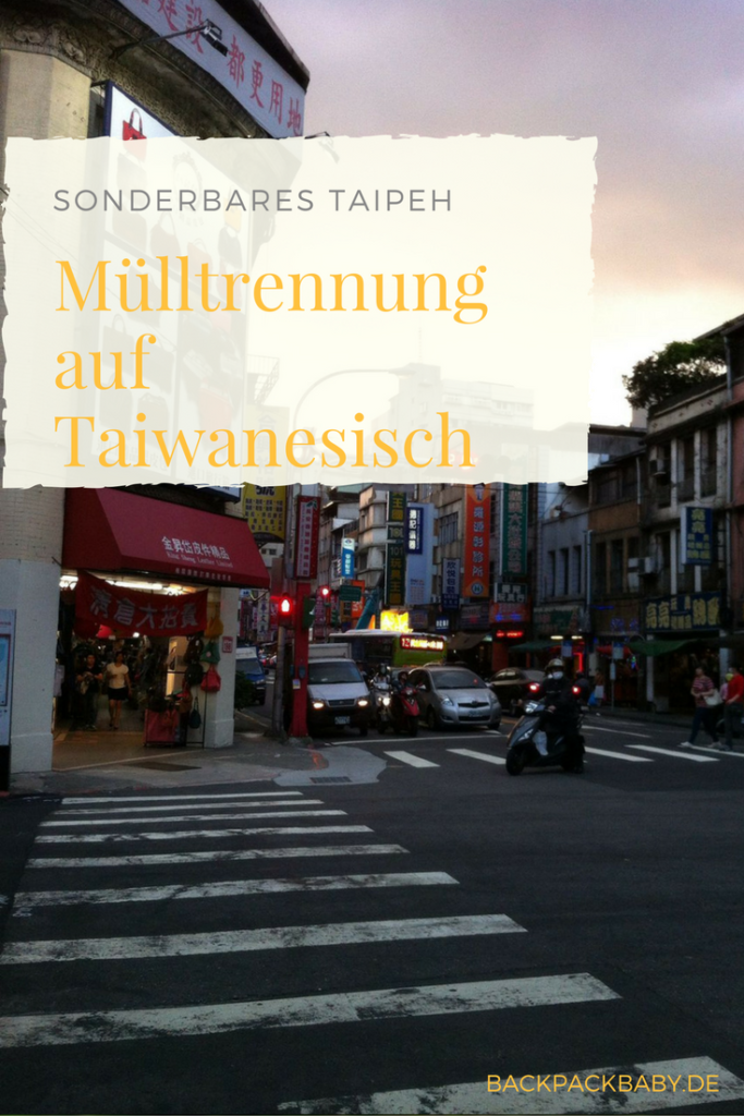 In Taipeh, Taiwan, wird das Trennen von Müll zum gesellschaftlichen Großereignis