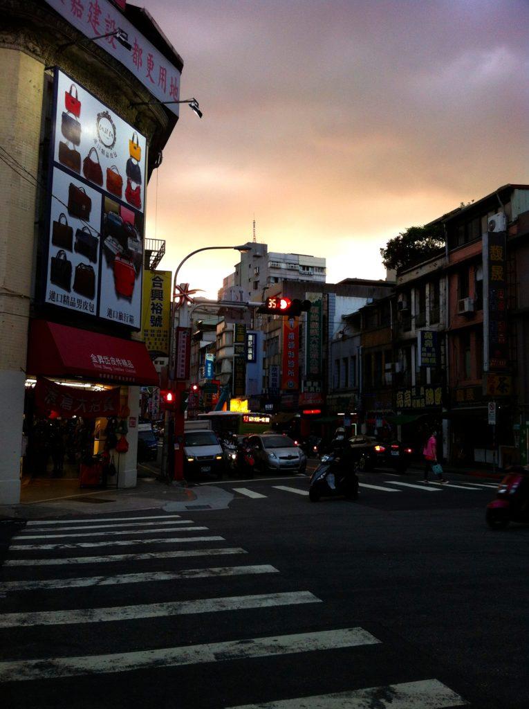 Die Straßen von Taipeh