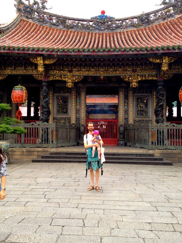 Eine der größten Touristenattraktionen Taipehs: Longshan Tempel