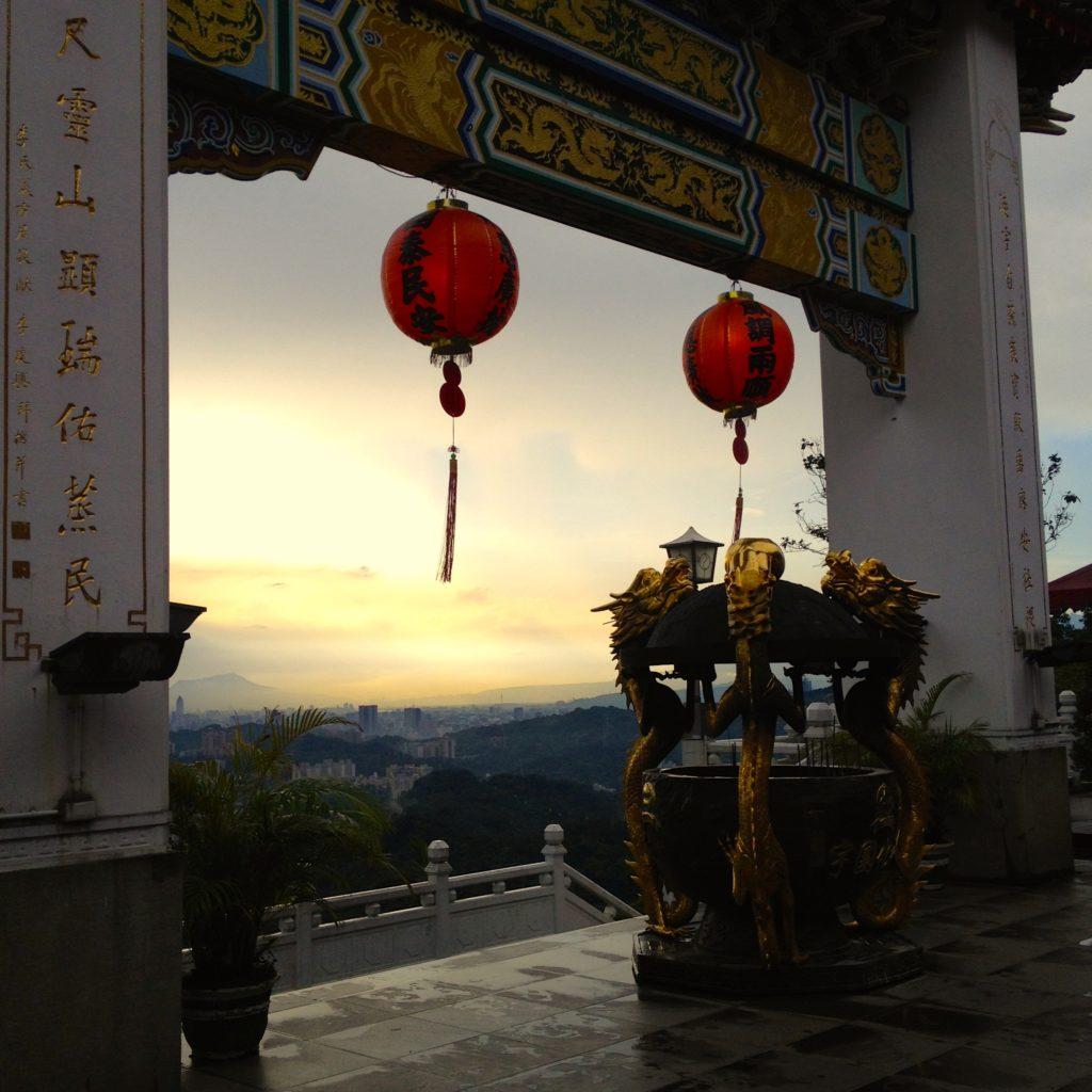 Tempel in Maokong, Taipeh (Taiwan)