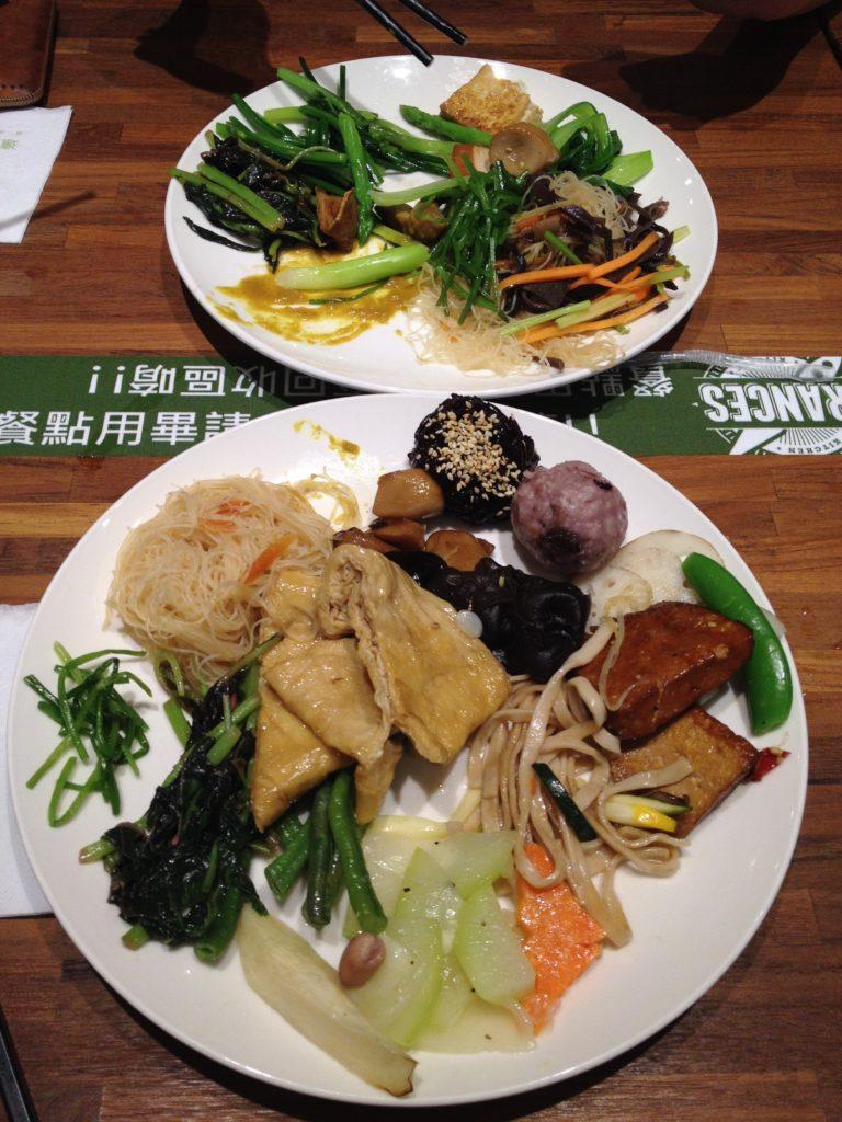 All you can eat Buffet in Taipei (vegan)