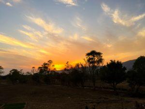 Sonnenuntergang über der Thar-Wüste