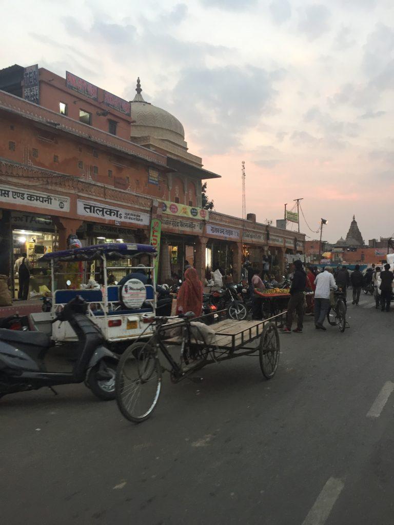 Tuk Tuks in Jaipur, Indien