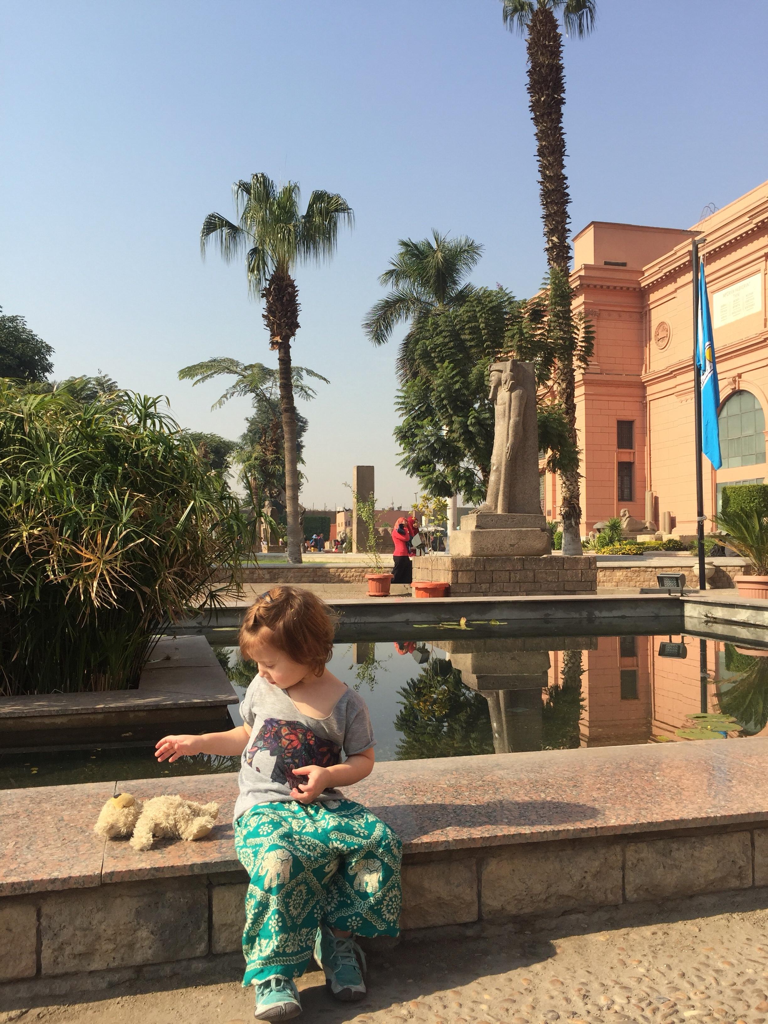 Mit Kind nach Kairo?