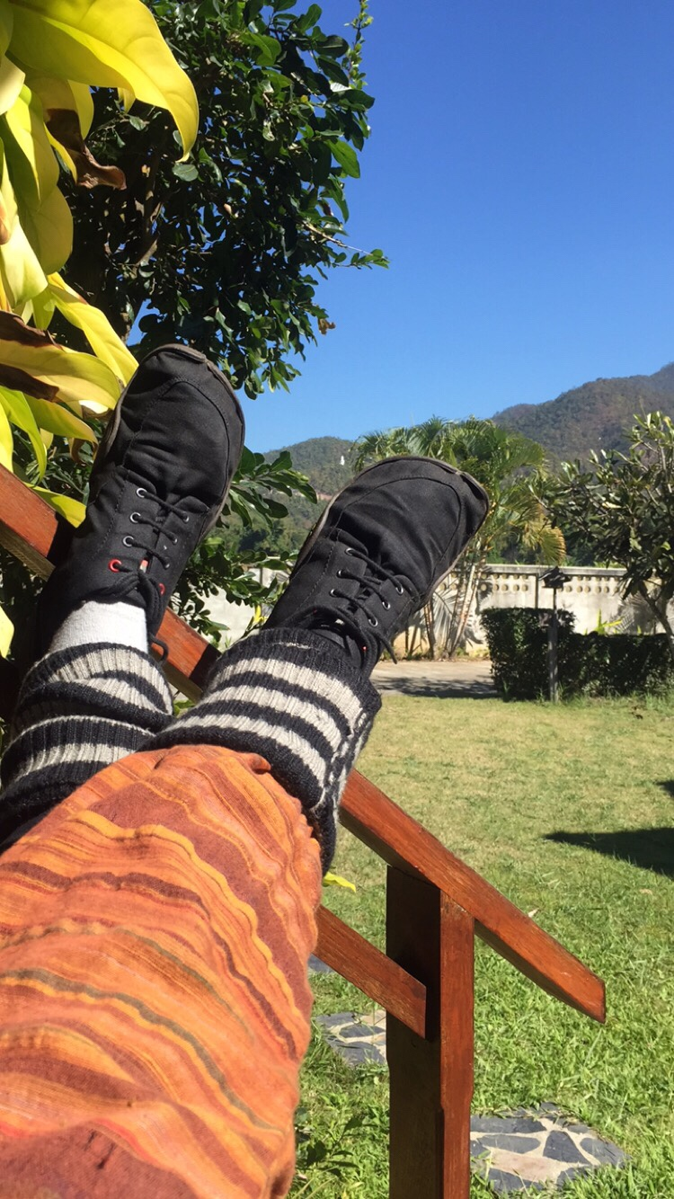 Tanuki Barfußschuhe. Besonders leichter Schuh für weite Reisen.